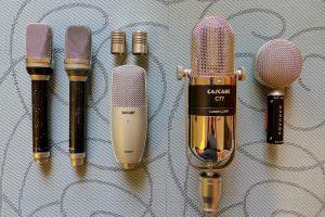 Microphones Sandro Miori
